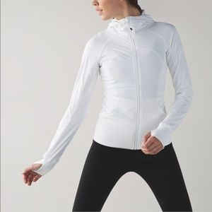 Lululemon influx jacket white